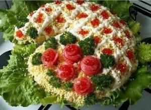 Салат Рог изобилия  Рецепты с фото