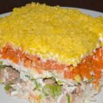 4409 Слоеный салат «Королевский»