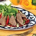 4437 Испанский салат с бараниной