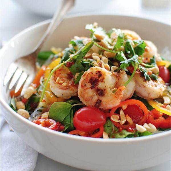 Нежный фруктово-овощной салат