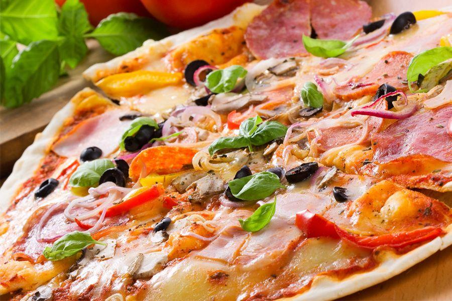 Доставка пиццы от пиццерии Pizza Sushi Man