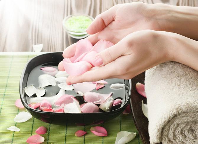 Укрепление ногтей ванночками