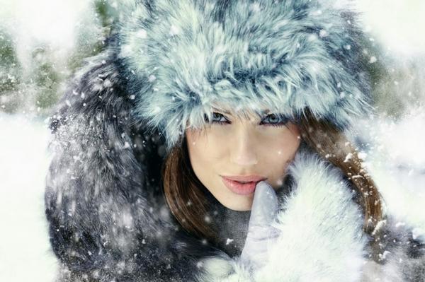 Правильный уход за волосами зимой