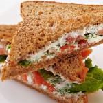4971 Сэндвичи с семгой и сыром Ронделе
