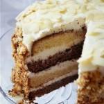 5044 Двухцветный торт из сметаны