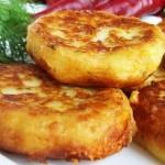 5180 Картофельные оладьи с сыром