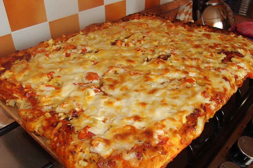 Как в домашних условиях сделать пиццу