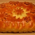 5356 Пирог с грудинкой и моцареллой