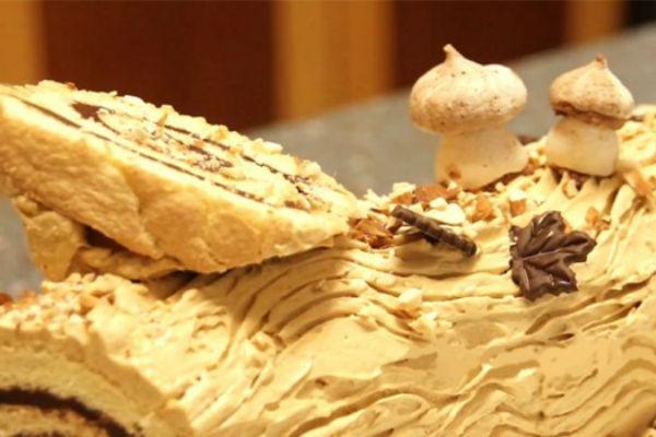 Торт-полено со вкусом Тирамису