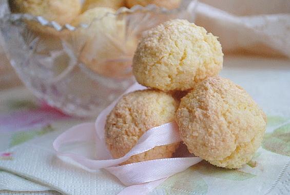 Печенье «Кокосовые облака»