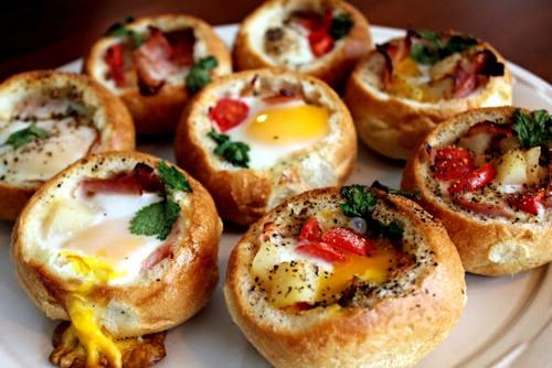 5480 Фаршированные булочки к завтраку