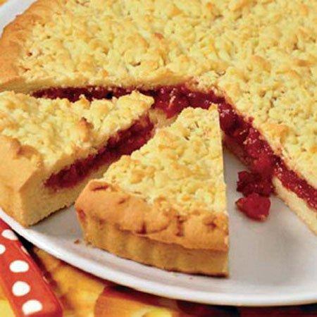 Постный пирог «Вишнёвое чудо»