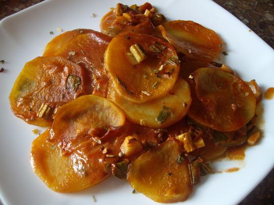 Картошка в томате «Ароматная»