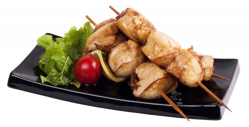Шашлычки из куриного филе в соусе «Терияки»