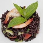 5738 Дикий рис с овощами и морепродуктами
