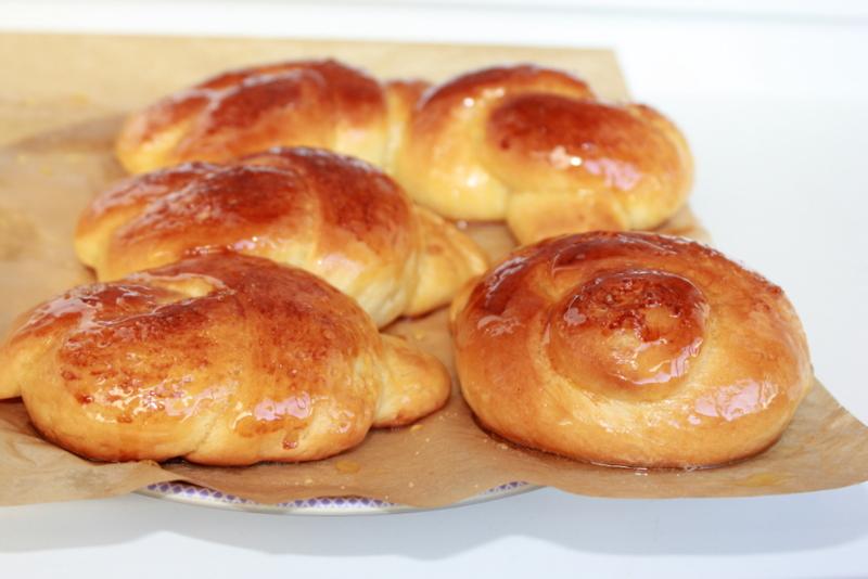 Клюквенно-медовые булочки