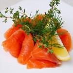 5790 Миньоны из лосося с апельсиновым соусом