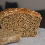 5992 Хлеб из пшеничной и цельнозерновой муки с мёдом и семечками