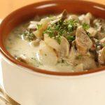 5998 Щавелевый суп с шампиньонами и рисом