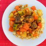 6025 Кус-кус с овощами и фрикадельками