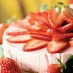 6102 Клубнично-йогуртовый тарт