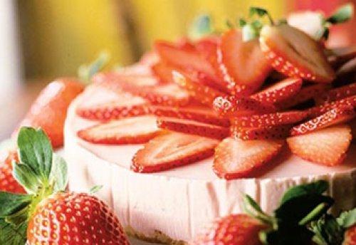 Клубнично-йогуртовый тарт