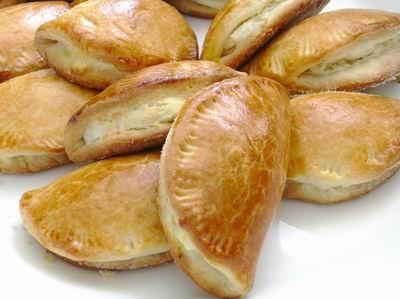 Лепёшки на кефире с «кармашками»