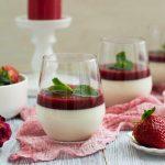 6160 Желейный десерт с шоколадным йогуртом