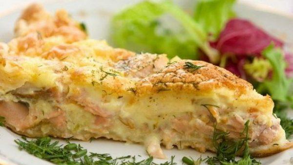 Запеканка с рыбой и картошкой пошаговый рецепт