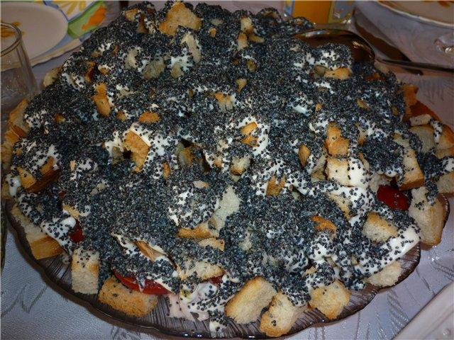 6441 Творожно-ягодный пирог