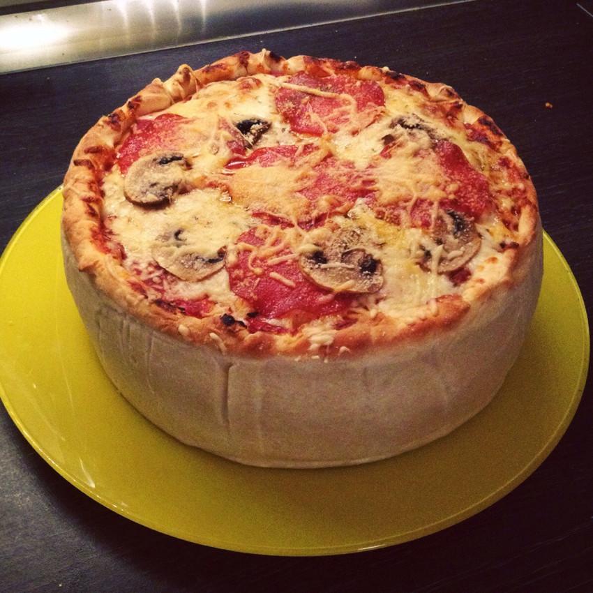 Пицца-торт «Пиццалеон»