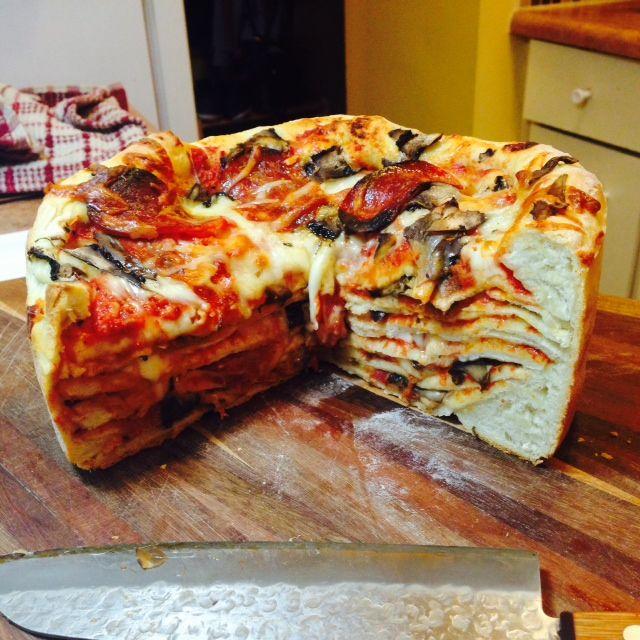 """Пицца-торт """"Пиццалеон"""""""