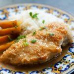 6305 Курица в абрикосовой глазури с кус-кусом