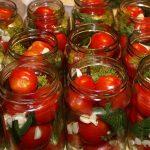 6337 Маринованные помидоры черри с луком