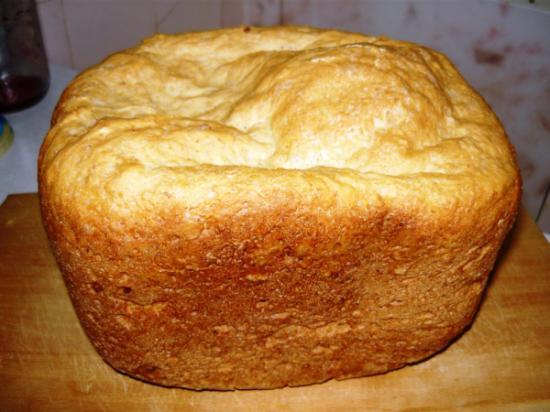 Пшеничный хлеб с кокосовой стружкой