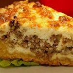 6798 Капустно-рисовый пирог с тунцом
