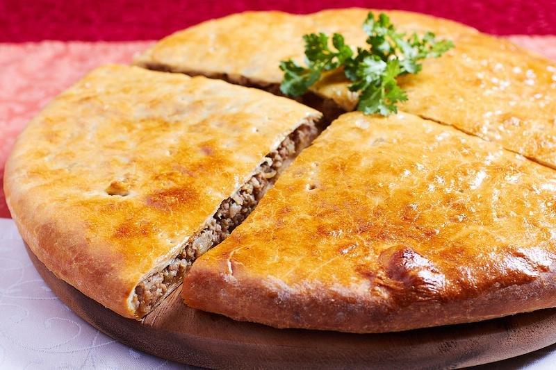 Грузинский мясной пирог. Кубдари