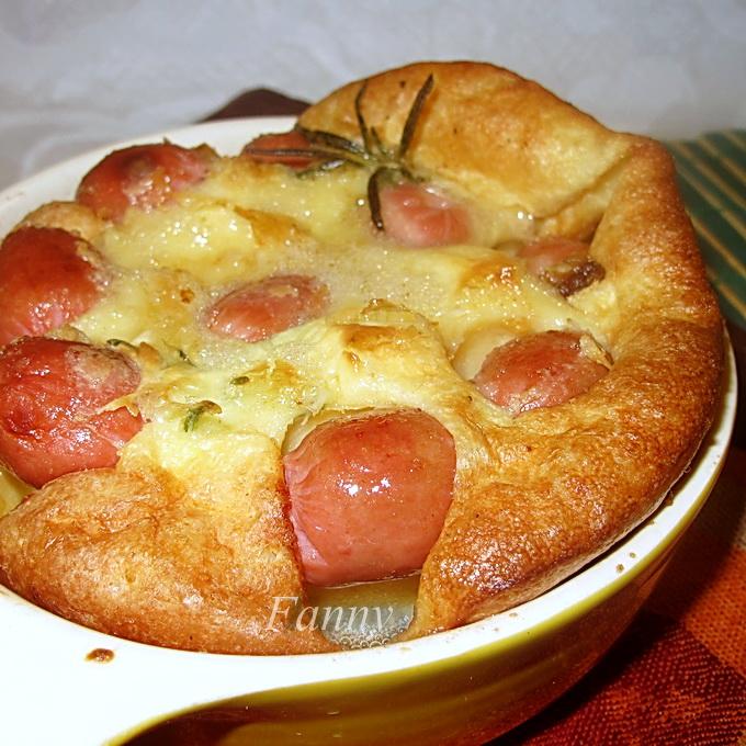 Традиционный английский пирог с колбасками