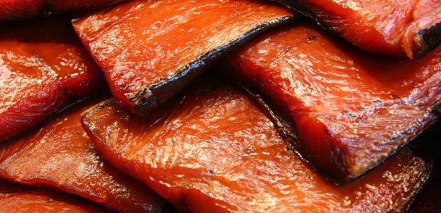 Красная рыба маринованная дымом «Морские радости»