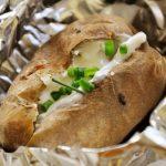 7017 Молодой запеченный картофель