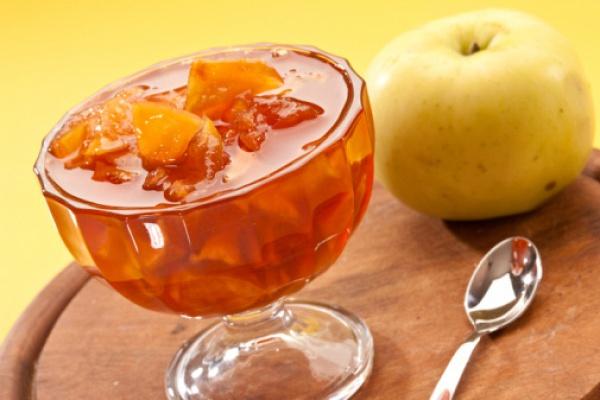 Пикантный лимонно-имбирный джем с яблоками