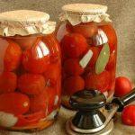 7322 Сладкие помидоры на зиму без уксуса