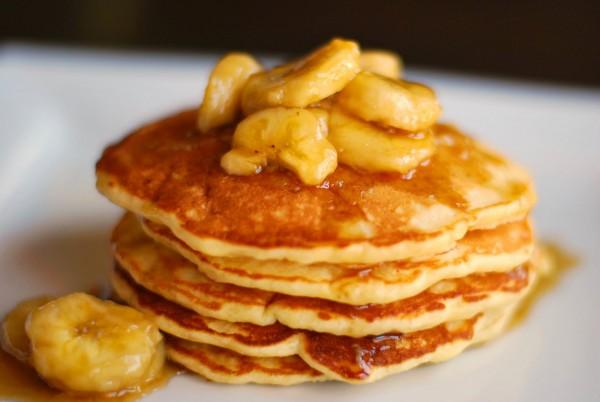 8133 Рецепт Тыквенные оладьи с бананами