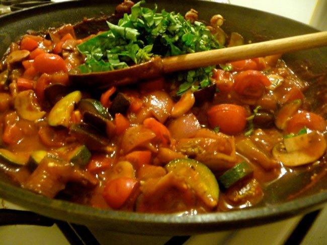 Рецепт Вкусное рагу в мультиварке