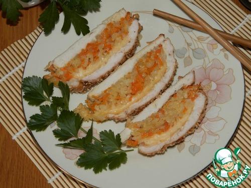 Рецепт Куриная грудка «По-японски»