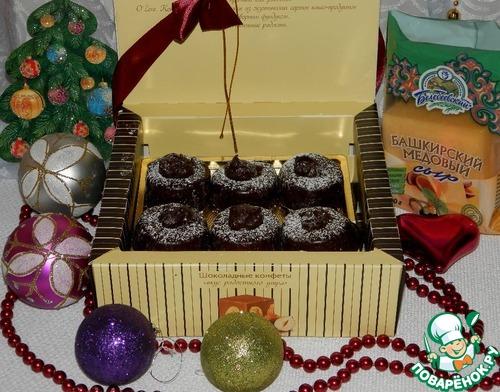 Рецепт Десертные конфеты «Новогодний сюрприз»