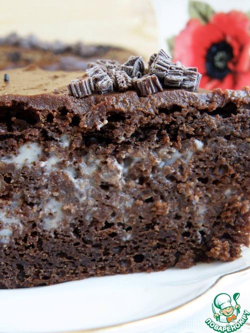 1493196320 153 Рецепт Торт шоколадный «Ретро» - Рецепт Торт шоколадный «Ретро»