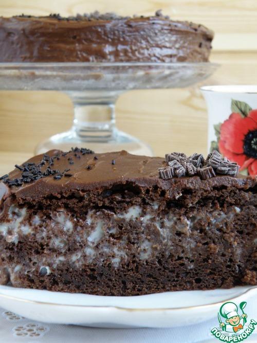 1493196320 736 Рецепт Торт шоколадный «Ретро» - Рецепт Торт шоколадный «Ретро»