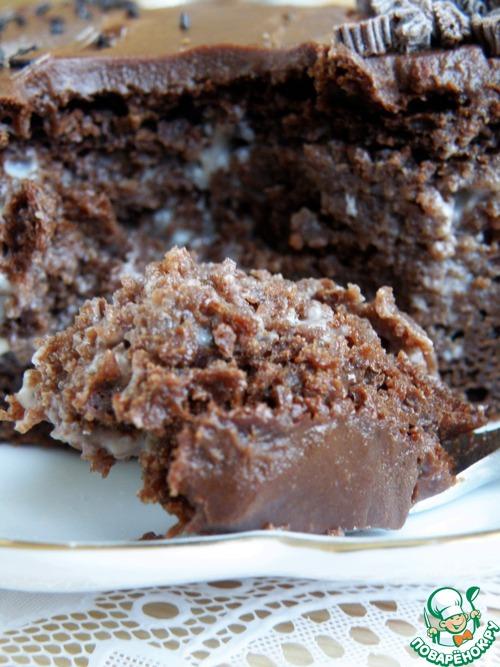 1493196321 293 Рецепт Торт шоколадный «Ретро» - Рецепт Торт шоколадный «Ретро»