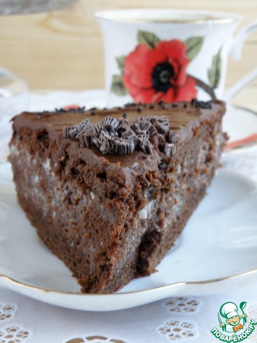 1493196321 565 Рецепт Торт шоколадный «Ретро» - Рецепт Торт шоколадный «Ретро»